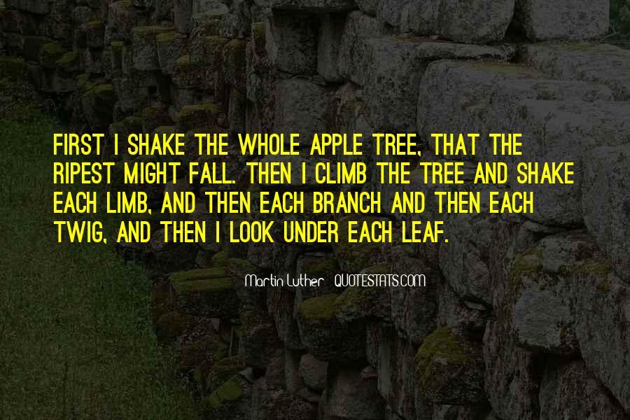 Tree Limb Quotes #126252