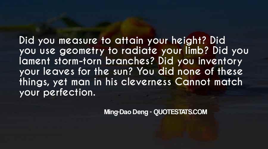 Tree Limb Quotes #1460581