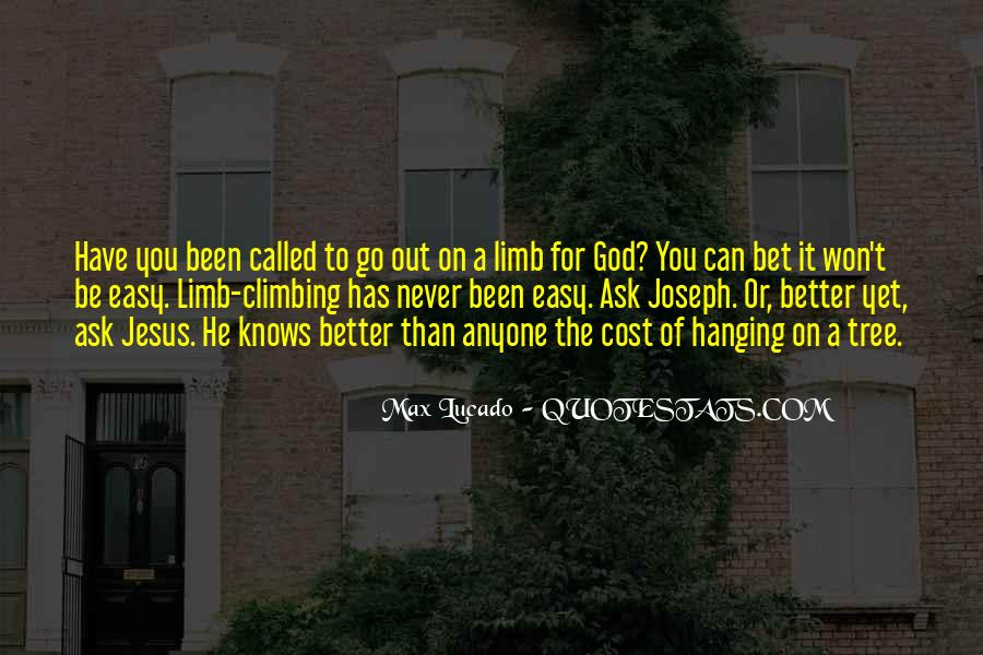 Tree Limb Quotes #1796670