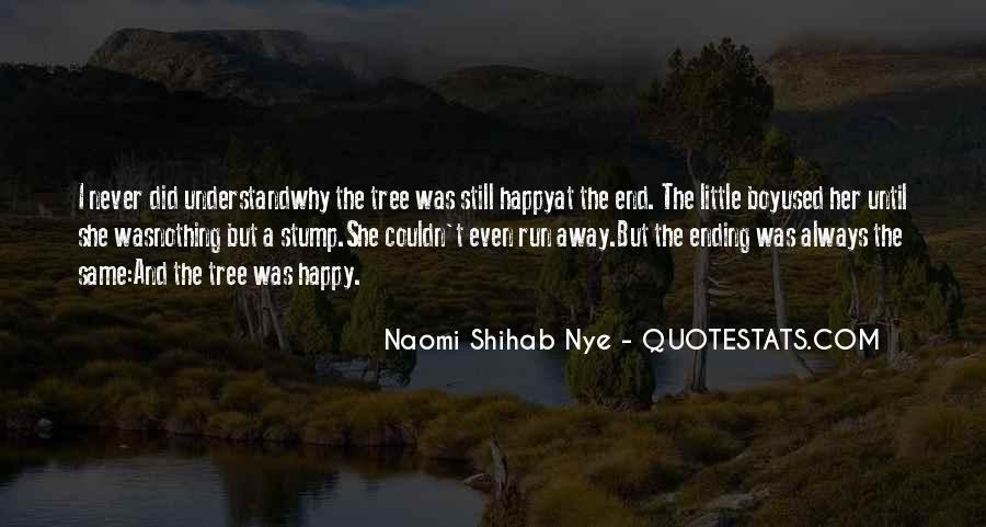 Tree Stump Quotes #242433