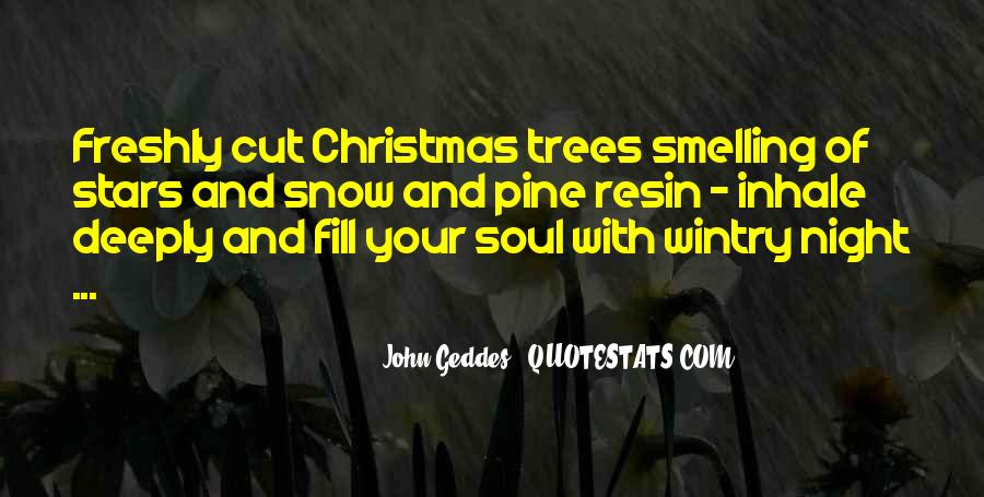 Tree With Snow Quotes #541822