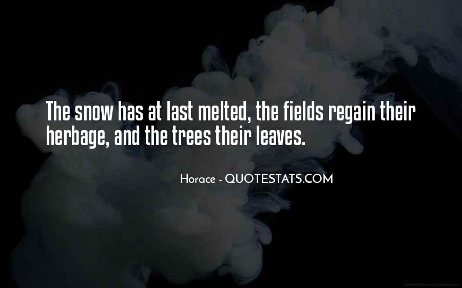 Tree With Snow Quotes #608759