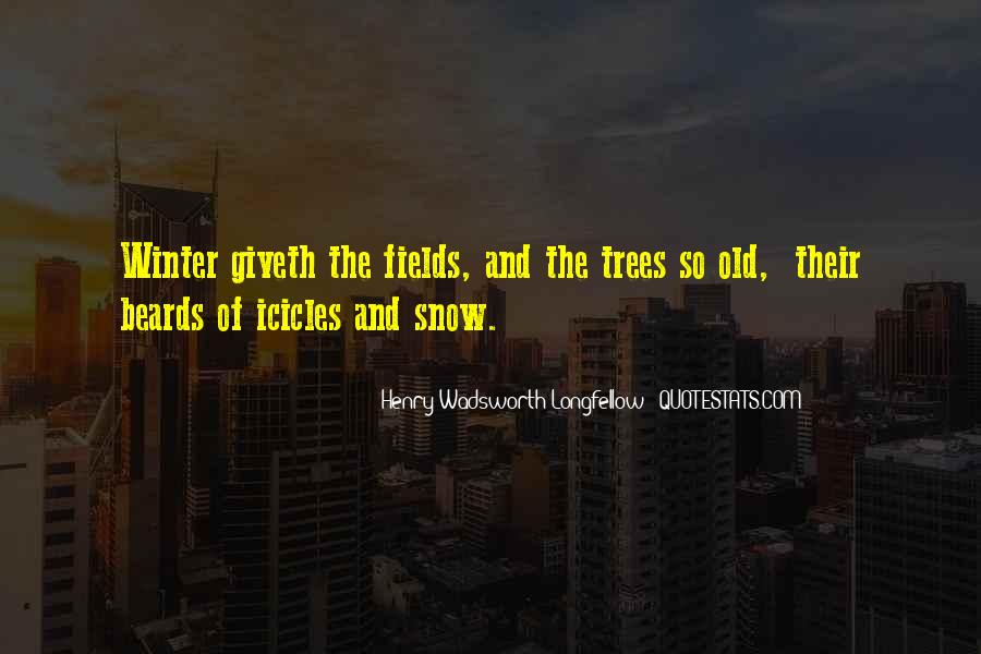 Tree With Snow Quotes #947416