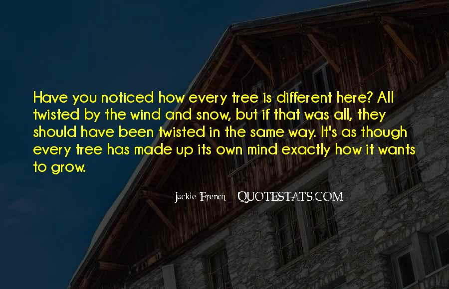 Tree With Snow Quotes #986834