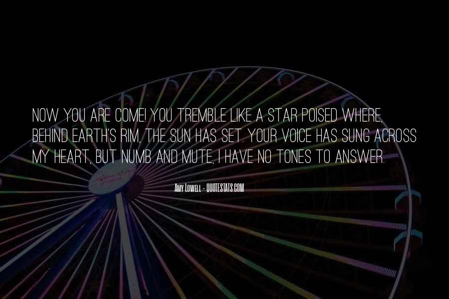 Tremble Quotes #166794