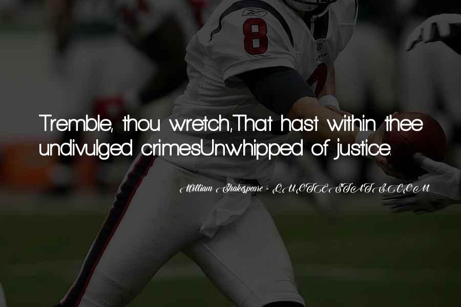 Tremble Quotes #244992
