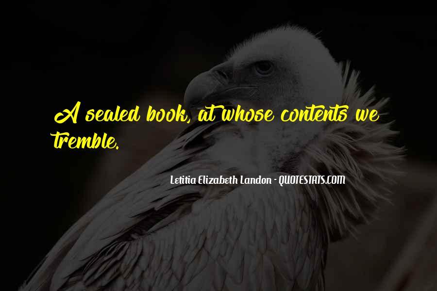 Tremble Quotes #265251