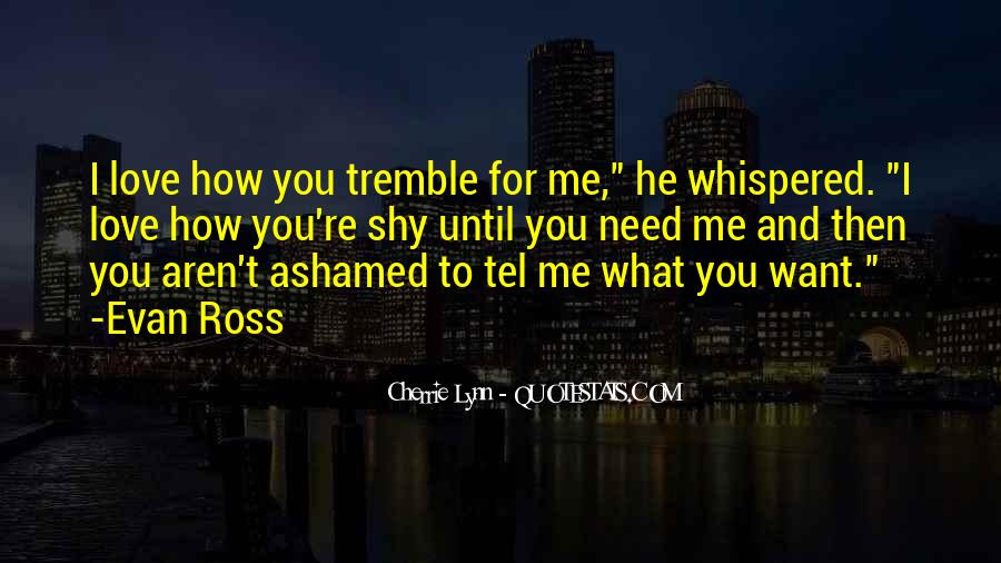 Tremble Quotes #285919