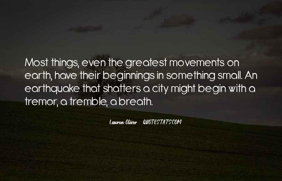 Tremble Quotes #312390