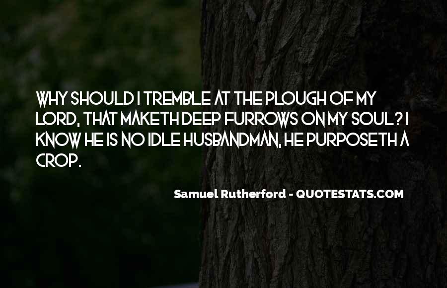 Tremble Quotes #343016