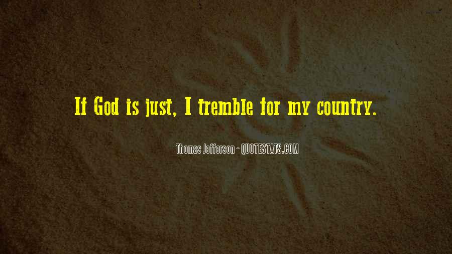 Tremble Quotes #404459