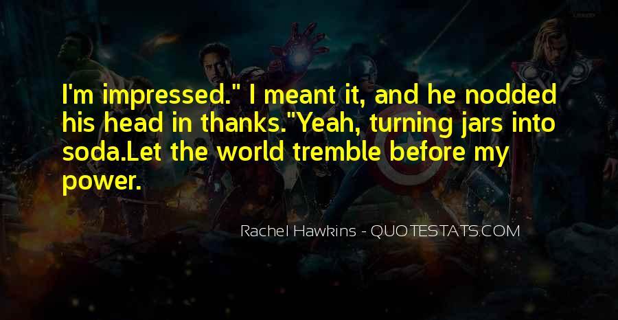 Tremble Quotes #454415