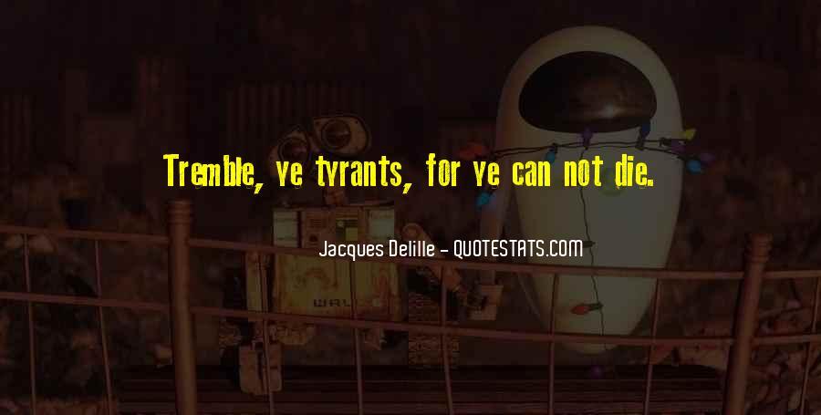 Tremble Quotes #458681