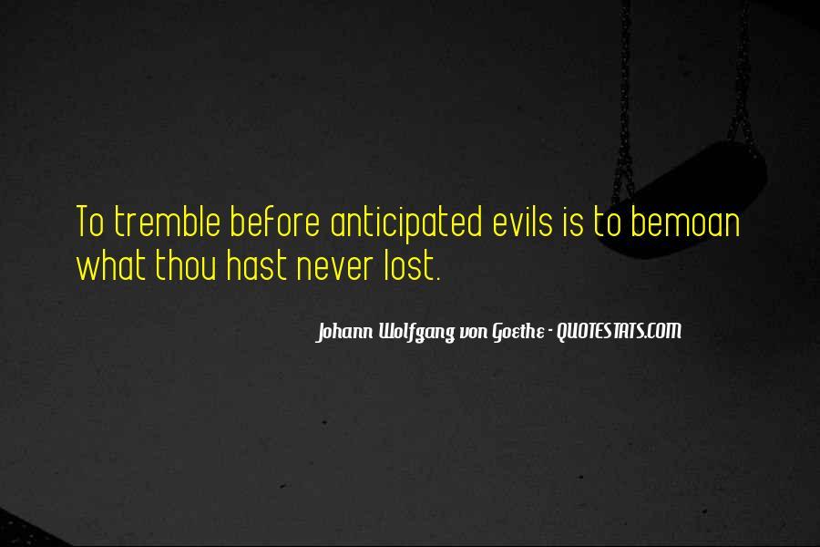 Tremble Quotes #462411
