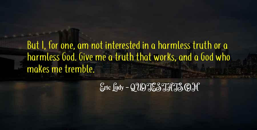 Tremble Quotes #570485