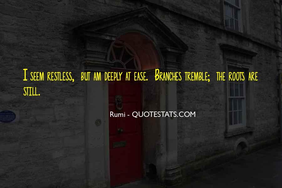 Tremble Quotes #576475