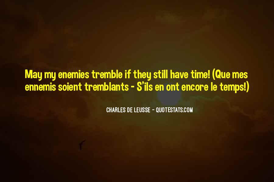 Tremble Quotes #585067