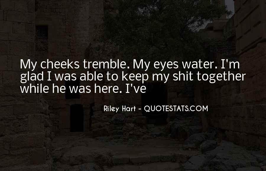 Tremble Quotes #638872