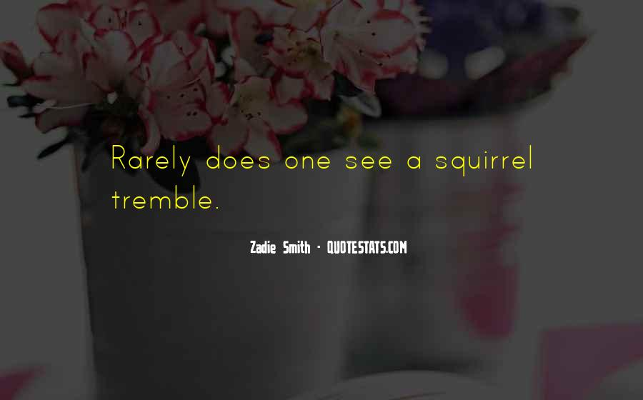 Tremble Quotes #76697