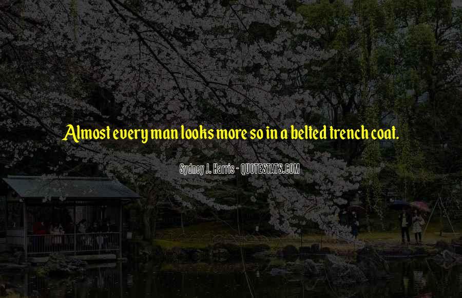 Trench Coat Quotes #1041753