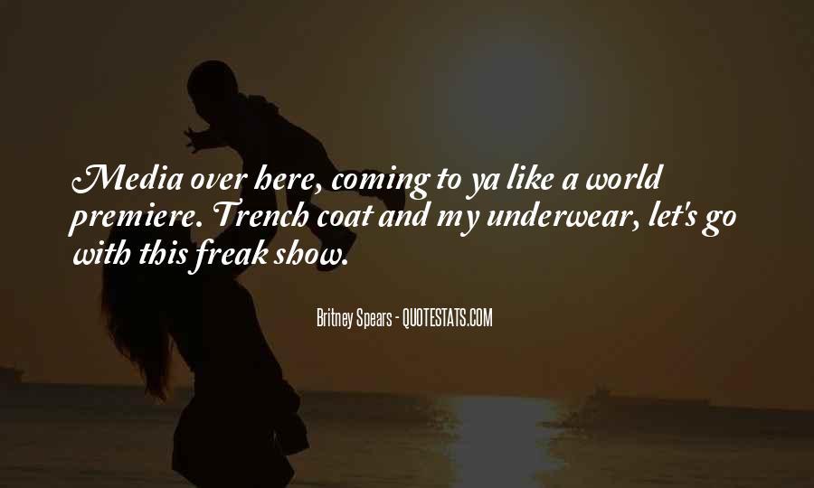 Trench Coat Quotes #1061476