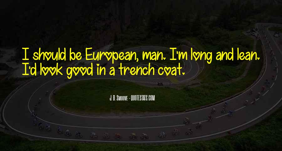 Trench Coat Quotes #1678397