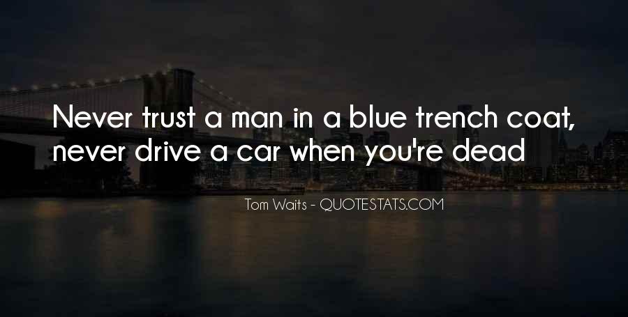 Trench Coat Quotes #578572