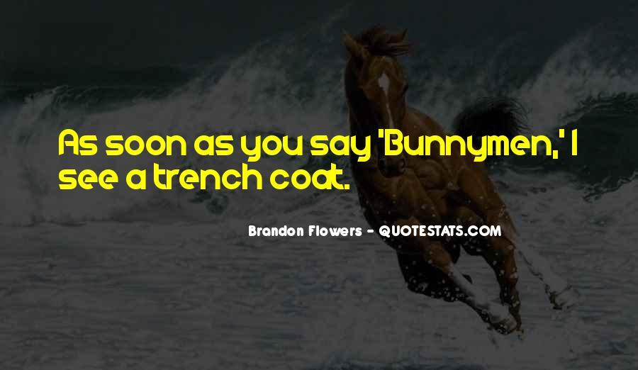 Trench Coat Quotes #722911