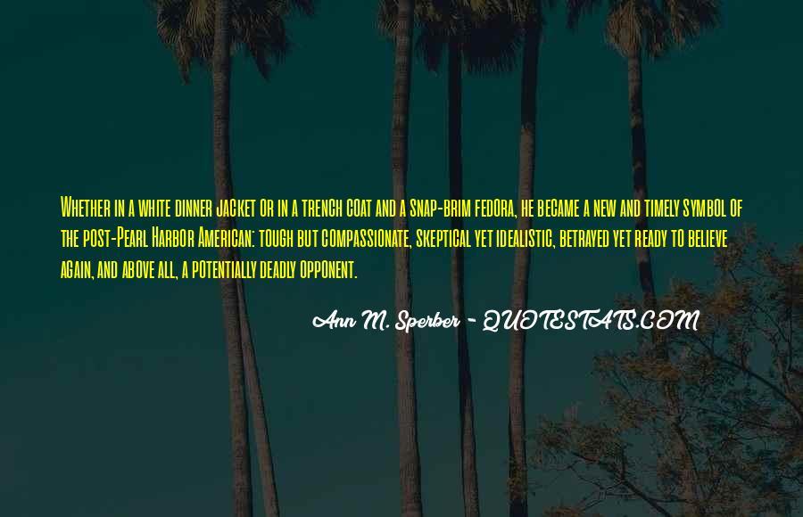 Trench Coat Quotes #900517