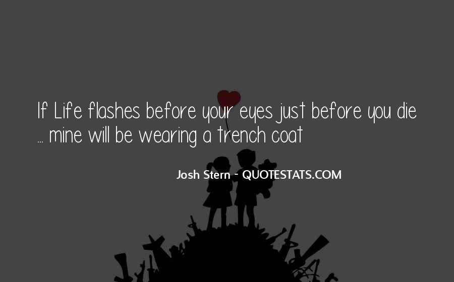 Trench Coat Quotes #929052