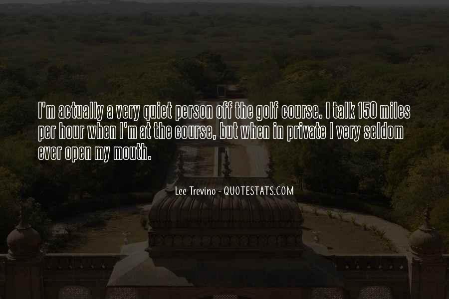 Trevino Quotes #953384