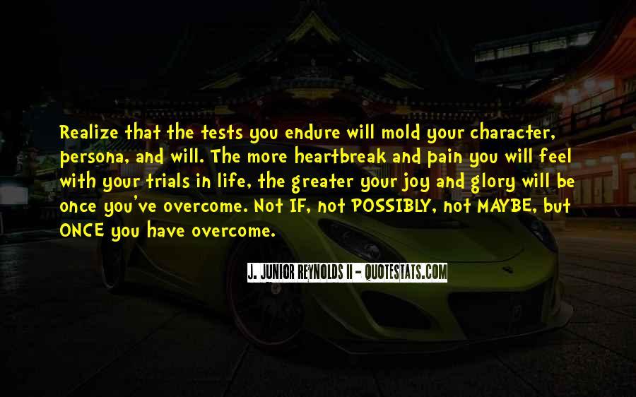 Trials Overcome Quotes #395252