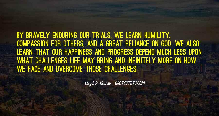 Trials Overcome Quotes #940726