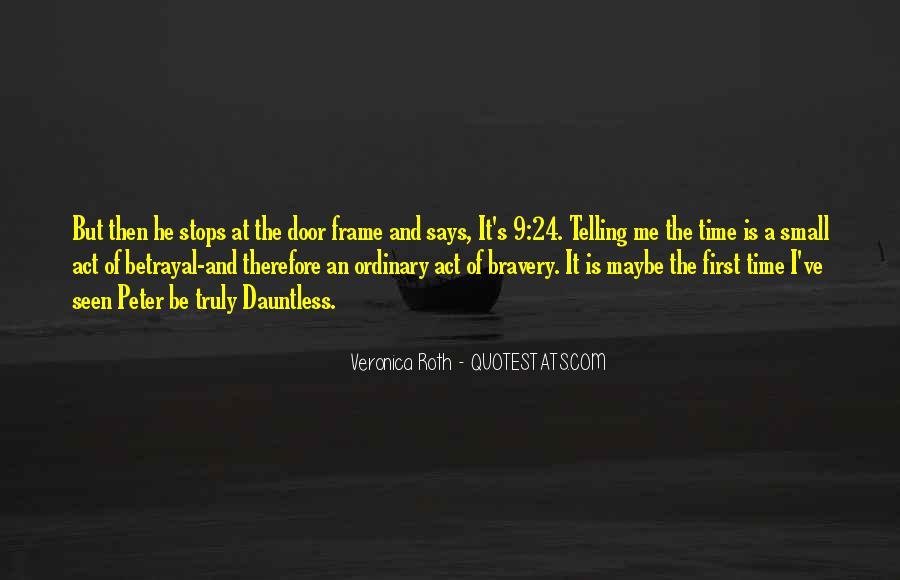 Tris Bravery Quotes #853809