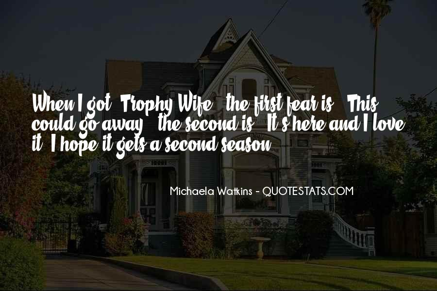 Trophy Quotes #107860