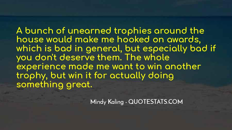 Trophy Quotes #252687