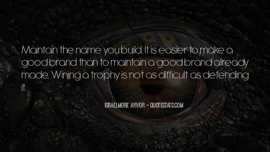 Trophy Quotes #378210