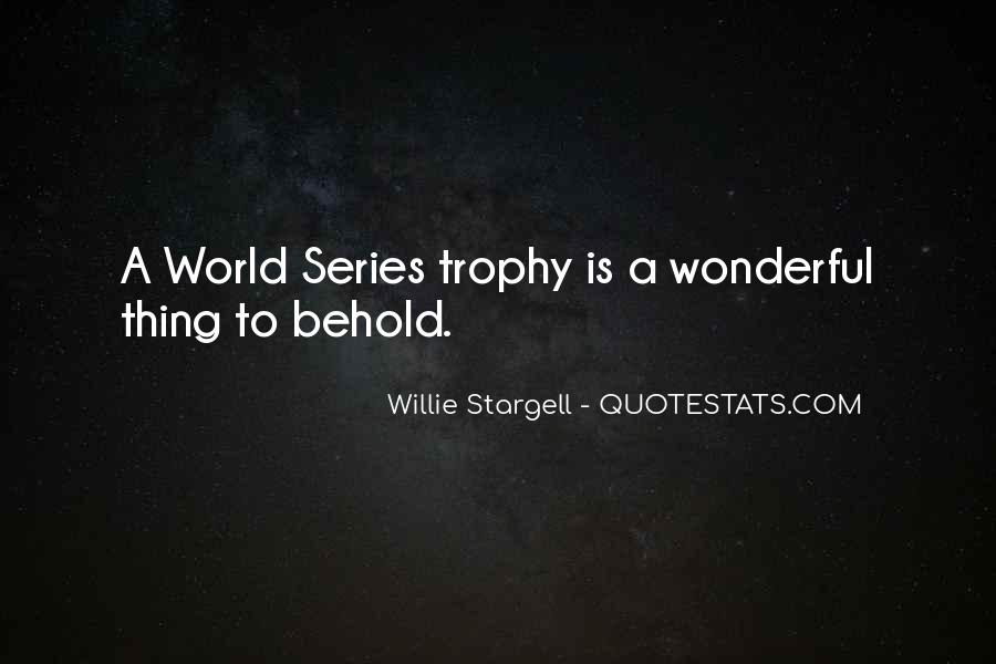 Trophy Quotes #408676