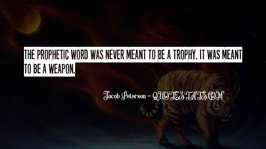 Trophy Quotes #412706