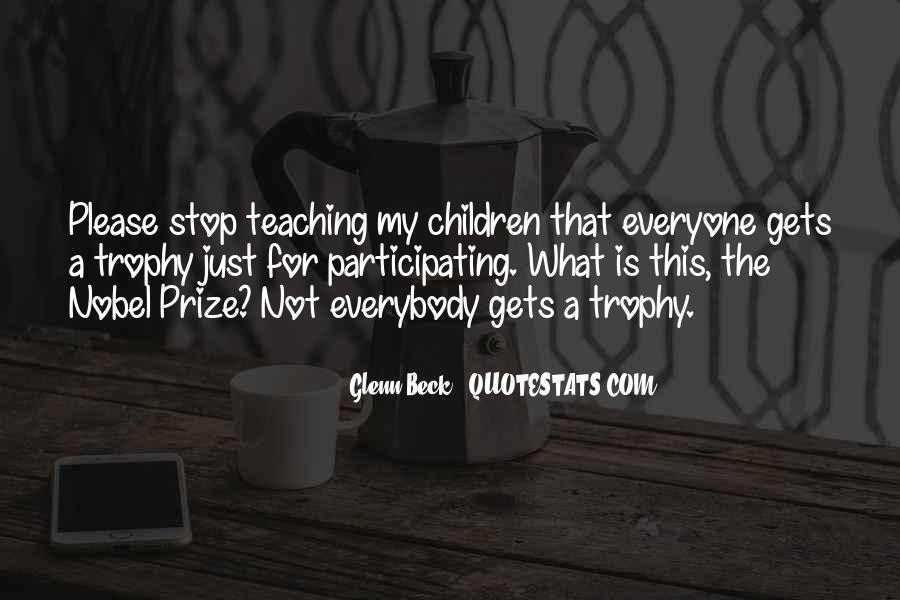 Trophy Quotes #512810