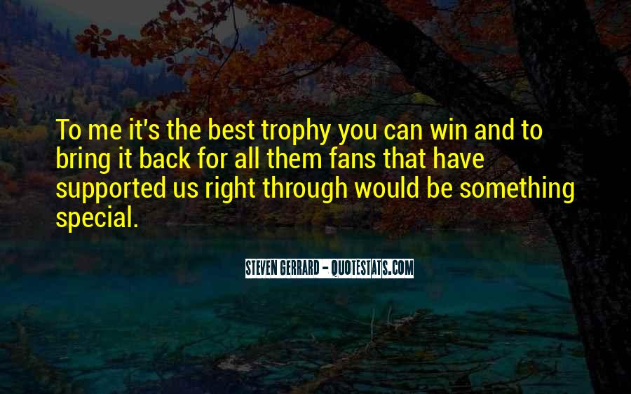 Trophy Quotes #523937