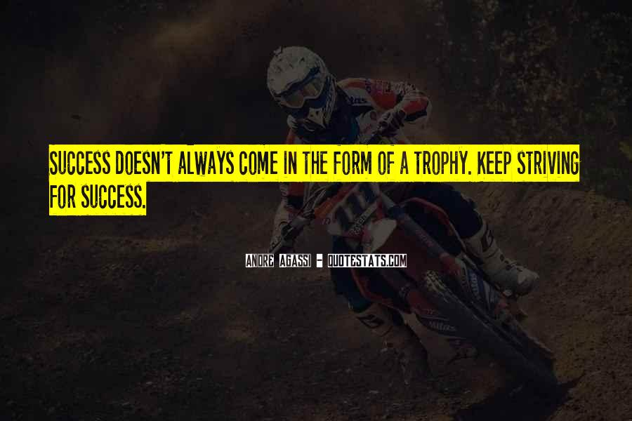 Trophy Quotes #641445