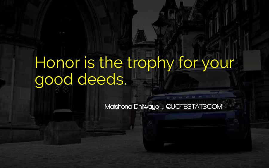 Trophy Quotes #645255