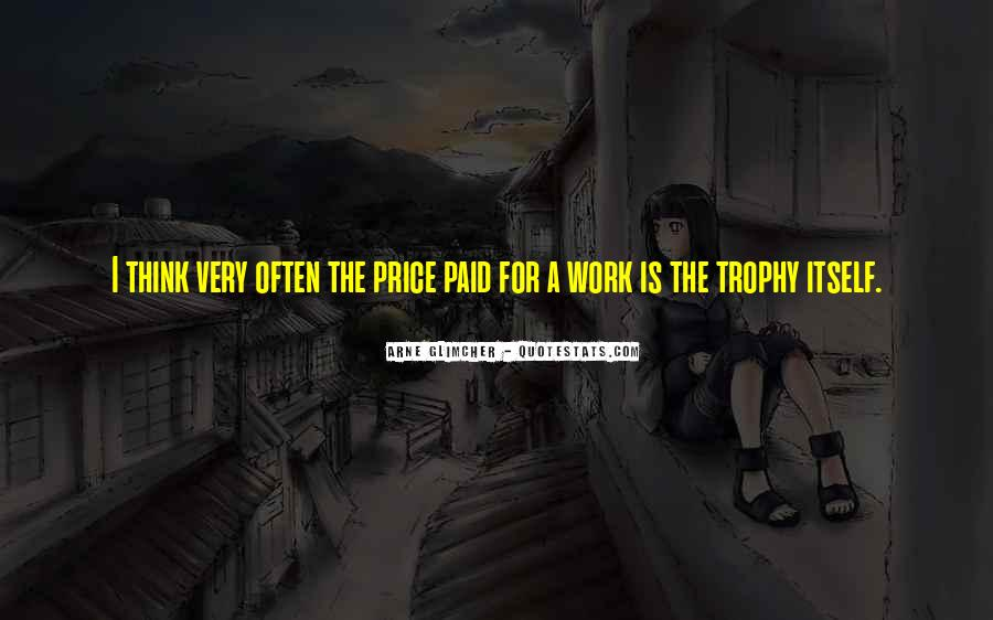 Trophy Quotes #8455