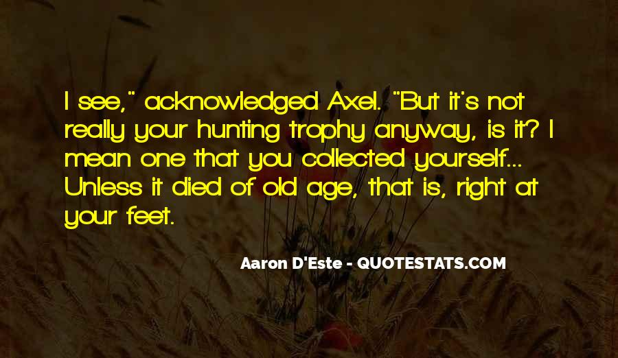 Trophy Quotes #86409