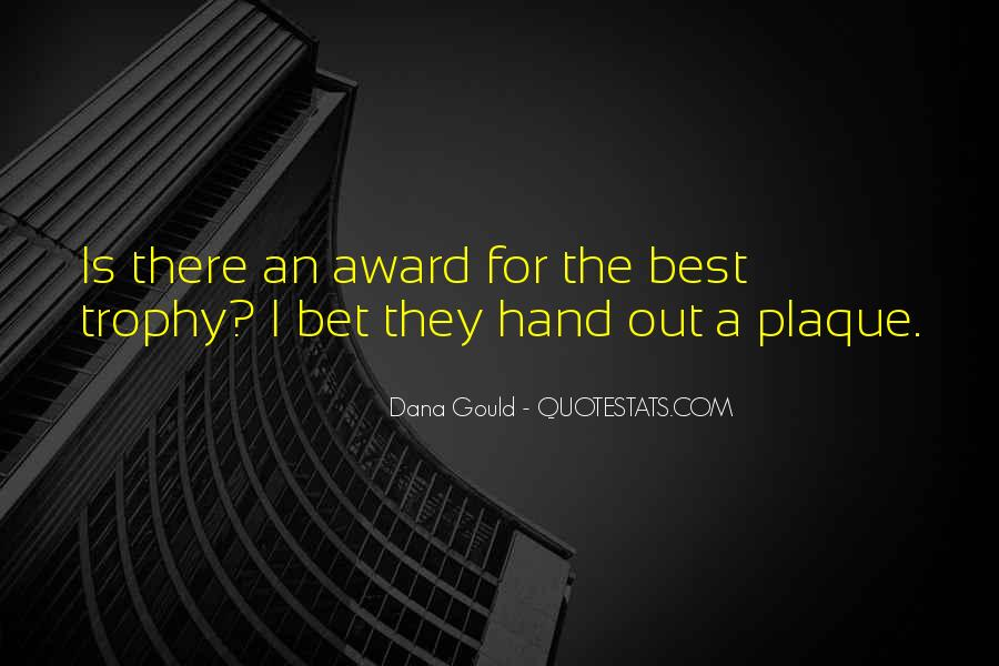 Trophy Quotes #870265