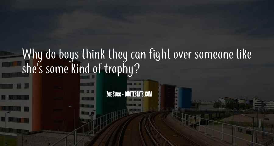 Trophy Quotes #934014