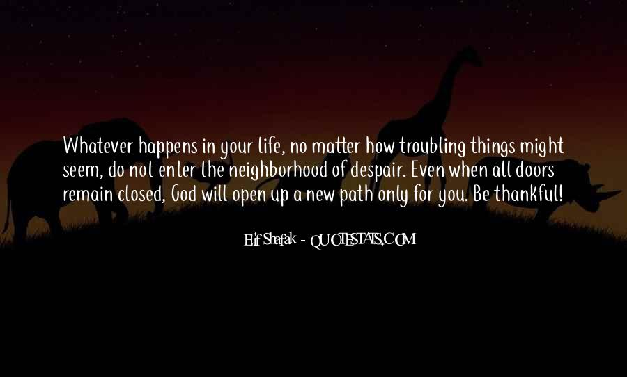 Troubling Life Quotes #1443279