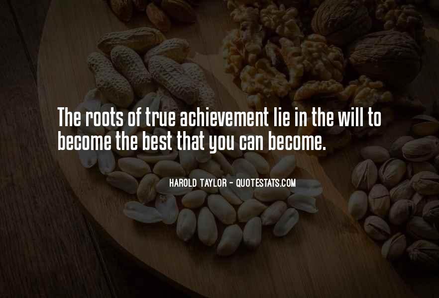 True Achievement Quotes #1408008