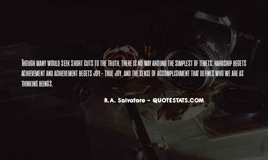 True Achievement Quotes #1480484